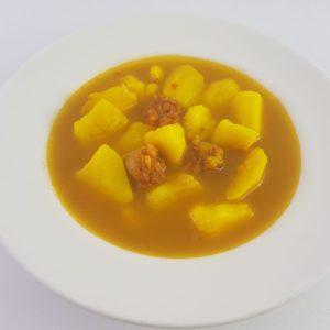 Patatas a la riojana - Tuppers a domicilio Tupy